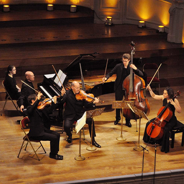 Thymos Quartet ft. Christoph Eschenbach