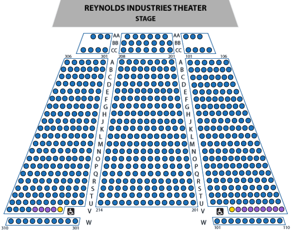 Accessibility Reynolds Theater