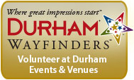 Sign up to be a Durham Wayfinder!
